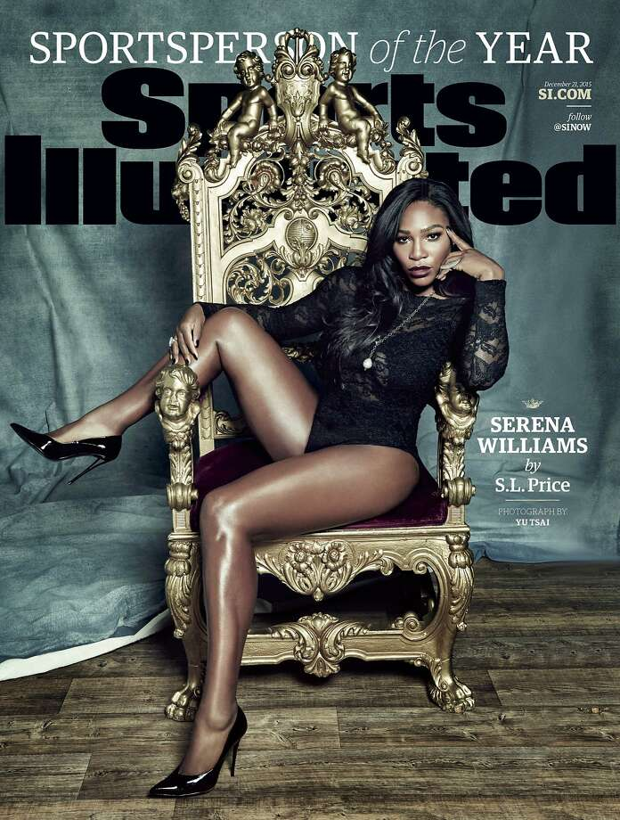 "This photo provided by Sports Illustrated shows the cover of the 2015 ""Sports Person of the Year"" magazine issue, featuring tennis player Serena Williams. (Yu Tsai for Sports Illustrated via AP) USAGE IN NORTH AMERICA ONLY FOR TWO WEEKS, ENDING DEC. 31, 2015, TO PROMOTE THE SPORTS ILLUSTRATED SPORTSPERSON ISSUE ONLY. CREDIT: YU TSAI FOR SPORTS ILLUSTRATED; ANY USE AFTER DEC. 31, 2015 REQUIRES PERMISSION FROM SPORTS ILLUSTRATED. NO ARCHIVING; NO LICENSING; MANDATORY CREDIT Photo: Yu Tsai, Associated Press"