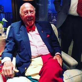George Shultz at his 95th birthday party