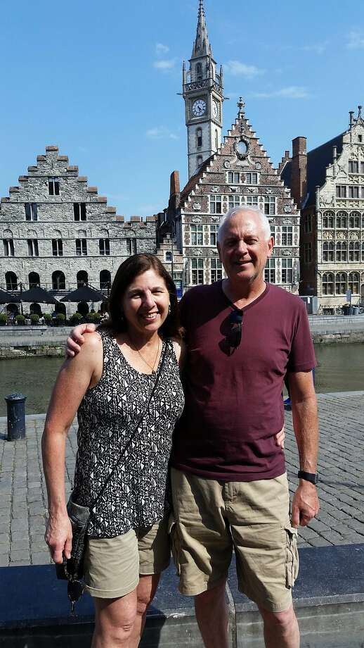 Stephen and Joan Byrne, of San Francisco, in Ghent, Belgium. Photo: Courtesy Stephen Byrne