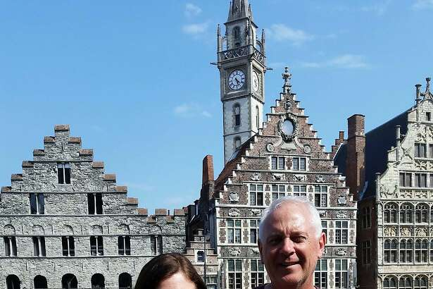 Stephen and Joan Byrne, of San Francisco, in Ghent, Belgium.