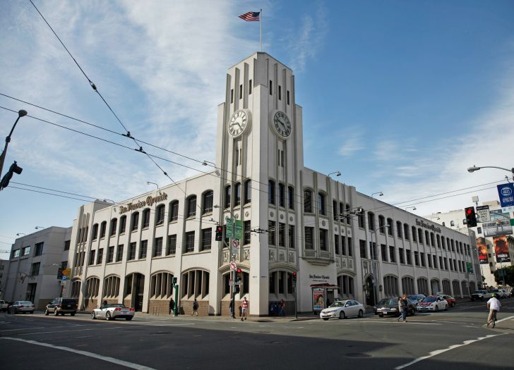 San Francisco Chronicle newsroom tour - San Francisco ...
