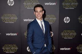 "Actor Alberto Rosende arrives at the premiere of Walt Disney Pictures' and Lucasfilm's ""Star Wars: The Force Awakens"" at the Dolby Theatre, TCL Chinese Theatre and El Capitan Theatre on December 14, 2015 in Hollywood, California."