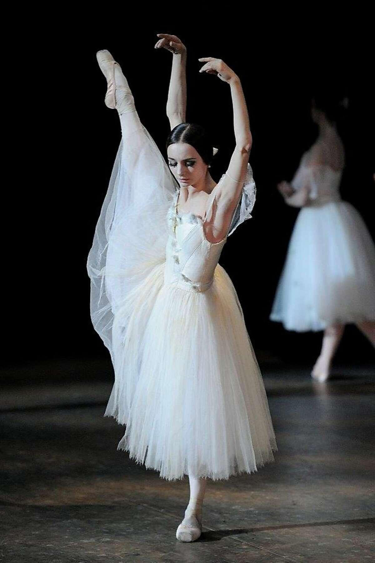 """Maria Kochetkova in the San Francisco Ballet's """"Giselle."""" Photo by Erik Tomasson"""