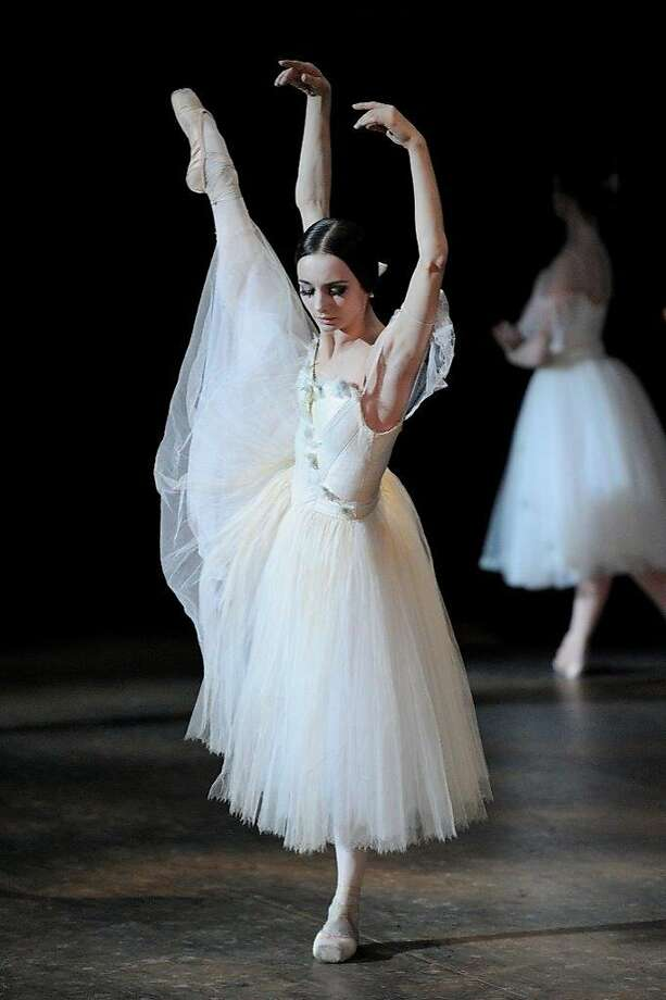"Maria Kochetkova in the San Francisco Ballet's ""Giselle."" Photo: Erik Tomasson"