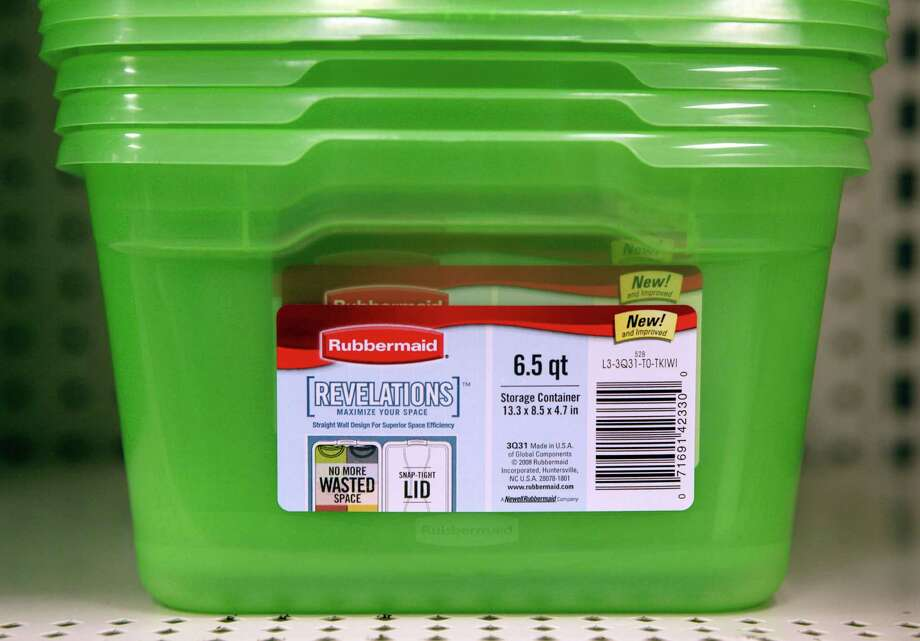 Newell Rubbermaid and Jarden are looking to use the company's new heft to attack markets such as baby products and kitchenware. Photo: Paul Sancya, STF / AP