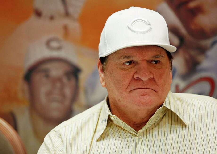 Pete Rose appears at an autograph signing event Monday, Dec. 14, 2015, in Las Vegas.  Baseball Commissioner Rob Manfred has rejected Rose's plea for reinstatement, citing his continued gambling and evidence that he bet on games when he was playing for the Cincinnati Reds. (AP Photo/John Locher) Photo: John Locher, STF / AP