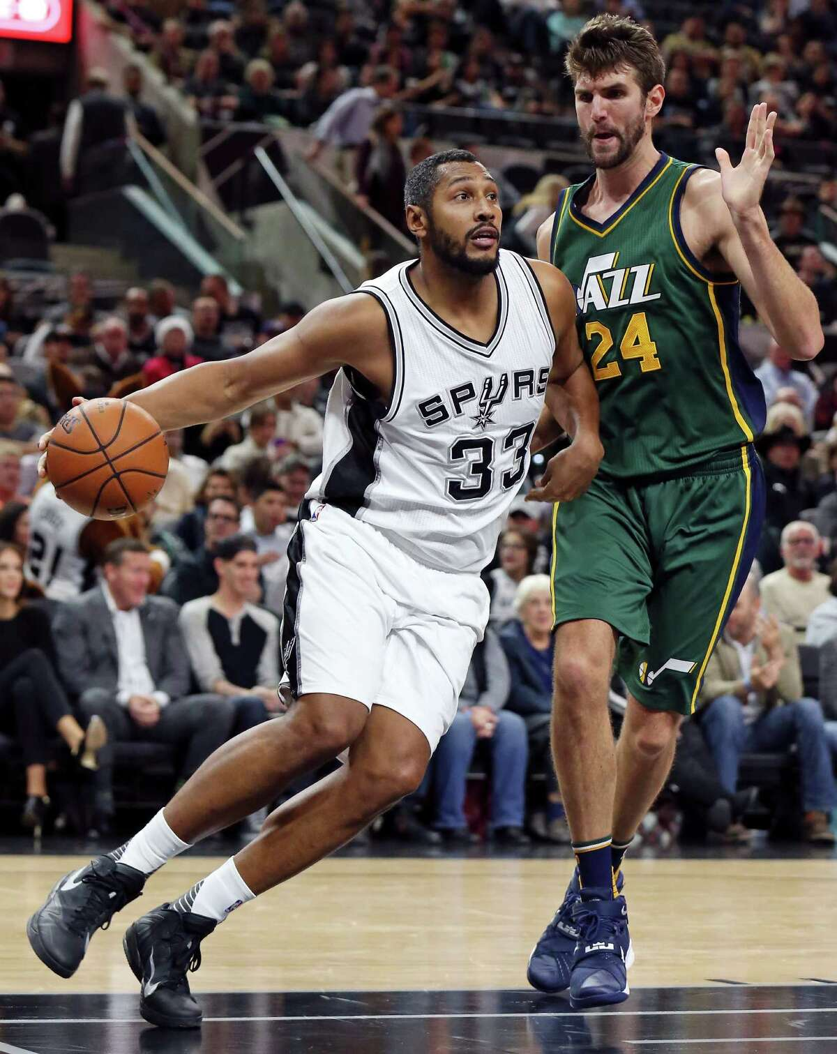 Nov. 1 - Spurs vs. Jazz, 7: 30 p.m. Beloved Boris Diaw was a cap casualty this offseason, traded to the Jazz make way for Pau Gasol. Diaw spent five season with the Spurs, winning a ring in 2014. Expect a raucous applause for Diaw when he gets off the bench.