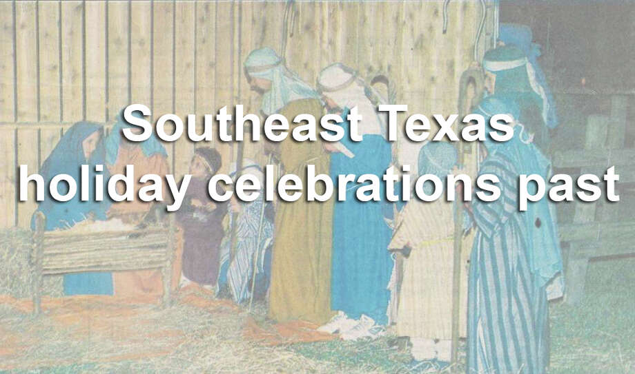 Click through the slides to see photos of Southeast Texans celebrating the holiday season through the years. Photo: Enterprise File Photo
