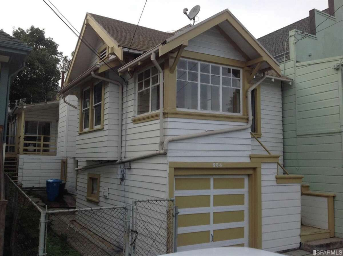 A two-bedroom Bernal Heights fixer hit the market in Dec. 2015 with a listing price of $549,000. The house closed on Jan. 22 with an all-cash sale of $920,000.