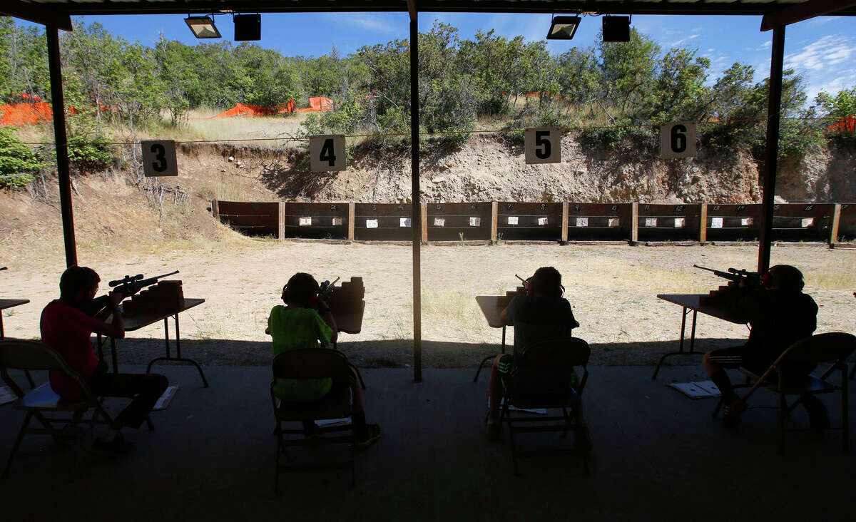 No. 17 - Utah Registered firearms per 1,000 residents: 12.9 Total registered firearms: 37,490 Source: CBS News Above: Boy Scout shoot guns at camp Maple Dell on July 31, 2015 outside Payson, Utah.