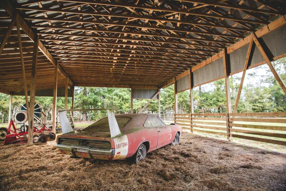 """This 1969 Dodge Daytona, an Alabama barn find, will be auctioned by Mecum Auctions in Kissimmee, Florida in January 2016. Photo: Theodore W. Pieper, """"Photos By Teddy Pieper, Courtesy Of Mecum Auctions / Theodore W. Pieper"""