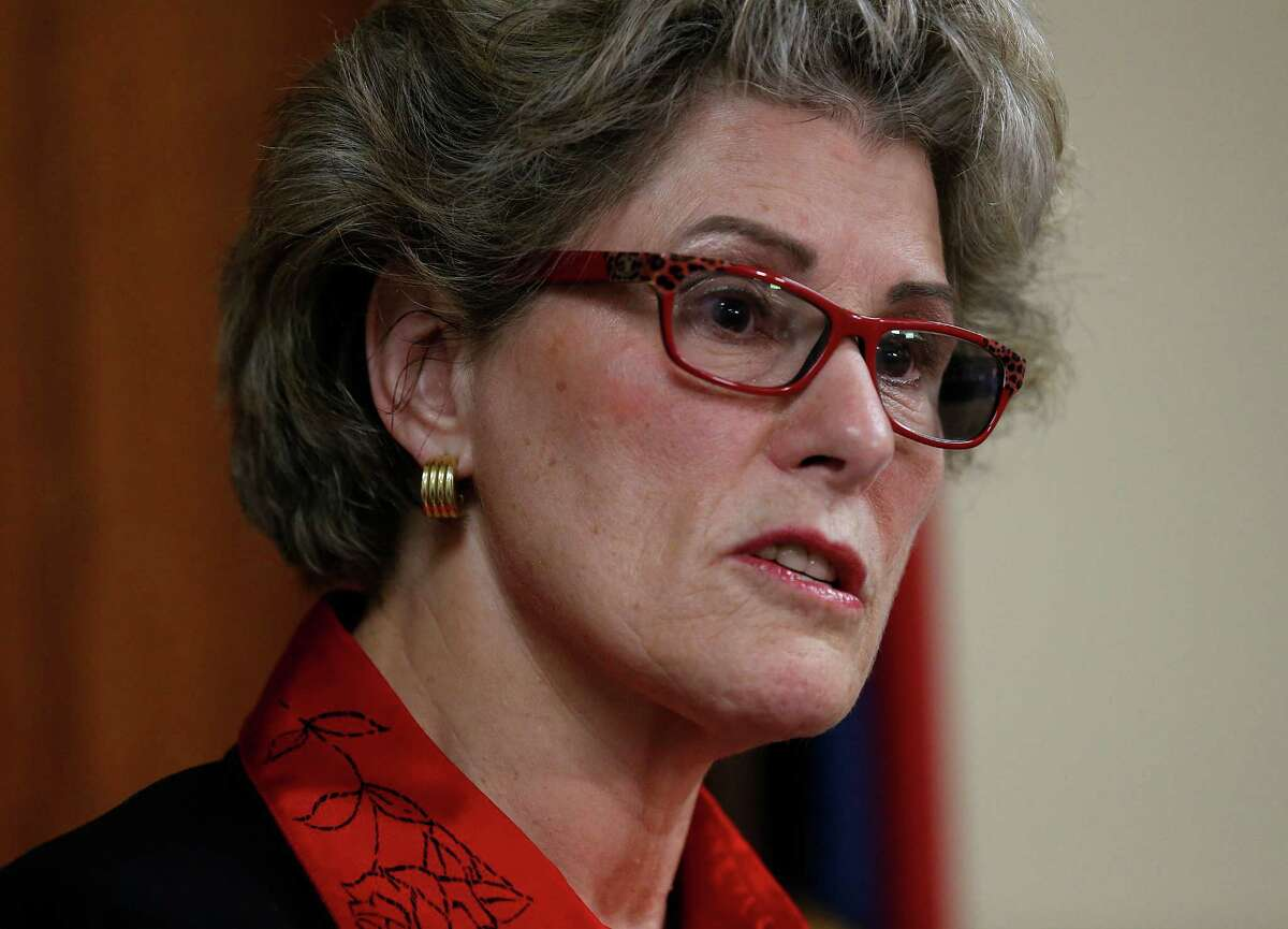 Bexar County Sheriff Susan Pamerleau said nobody told her about San Antonio being part of a U.S. Department of Homeland Security network of devices meant to detect a terror attack by airborne chemical or biological agents. Leaders responsible for public safety should have been informed of the Biowatch Gen-2 system, she said. (Kin Man Hui/San Antonio Express-News)