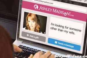 A still from a commercial for Ashley Madison is pictured. The commercial landed on the list of Australia's most offensive ads.