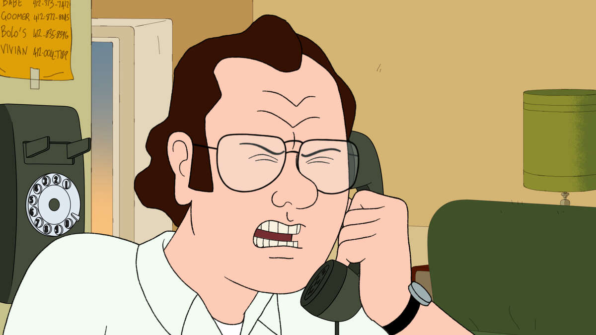 """Frank Murphy (voiced by Bill Burr) in the Netflix original series """"F Is for Family."""""""