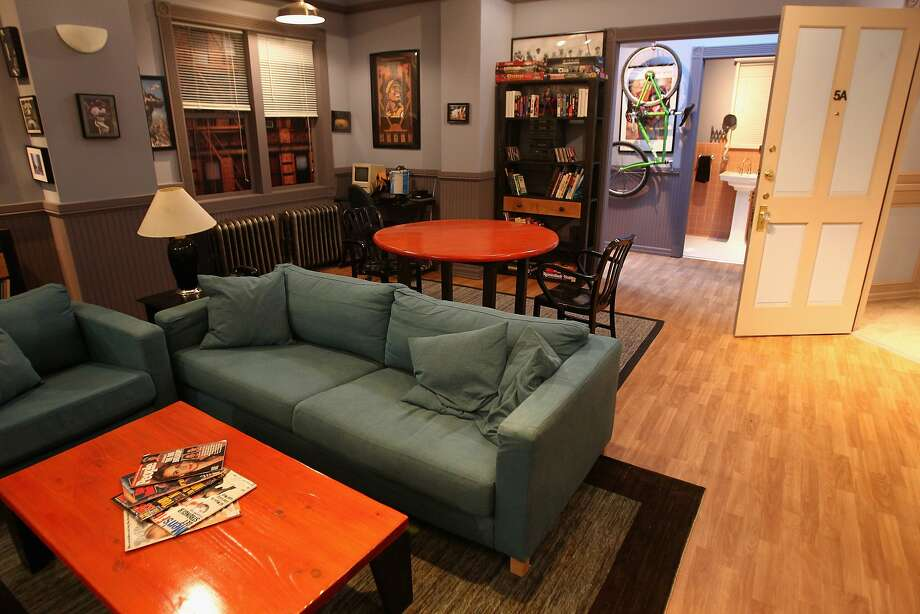 """Yes, you can actually visit the Seinfeld apartment.Click through the images for rare photos of the taping of the """"Seinfeld"""" pilot and other episodes. Photo: Tommaso Boddi, Getty Images For Hulu"""