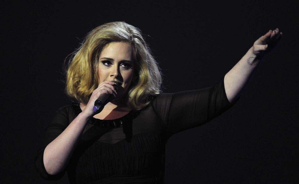 British singer-songwriter Adele.