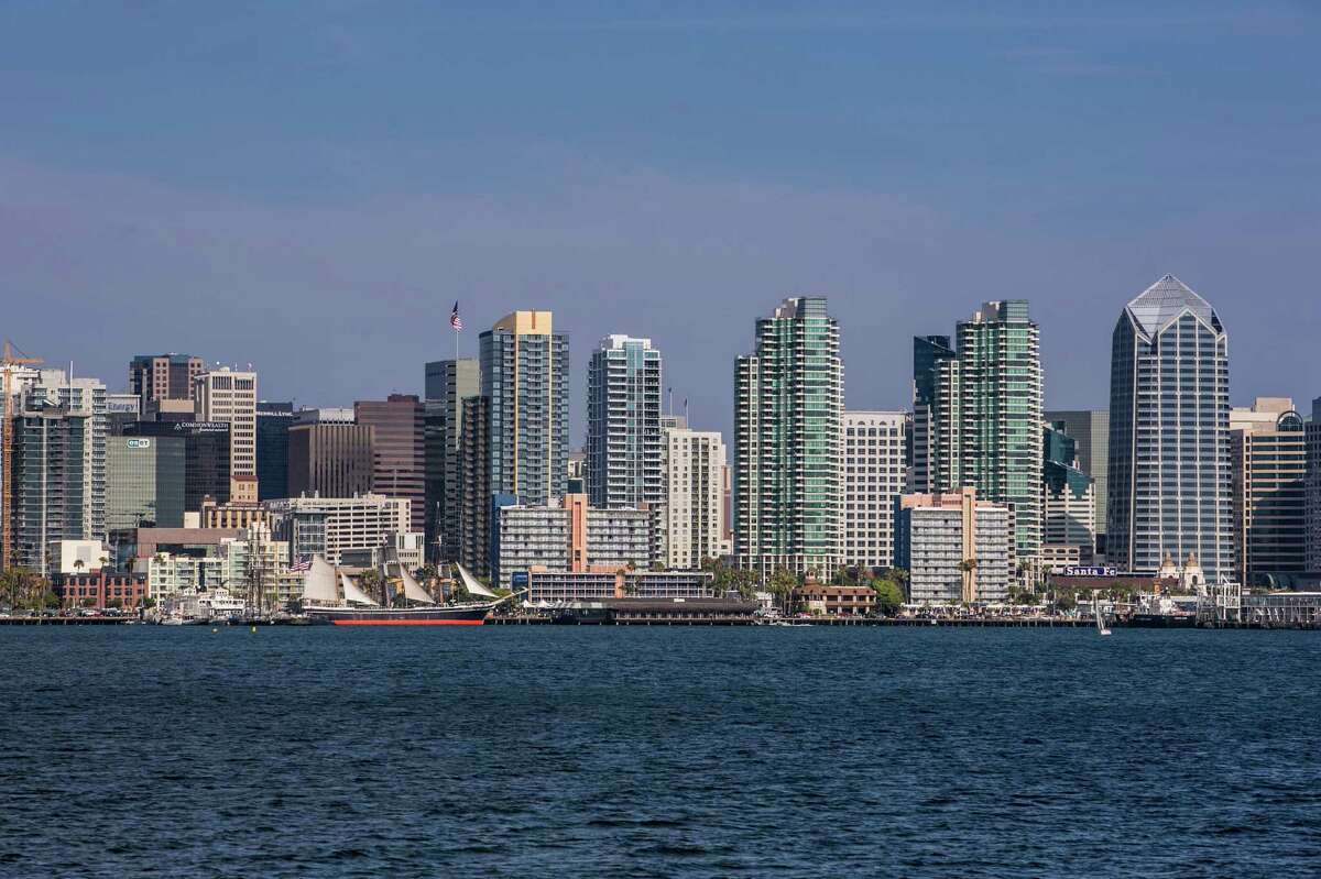 San Diego: $593,000 30-year fixed mortgage rate: 4.10% Monthly payment: $2,649.04 Salary needed: $113,530.43