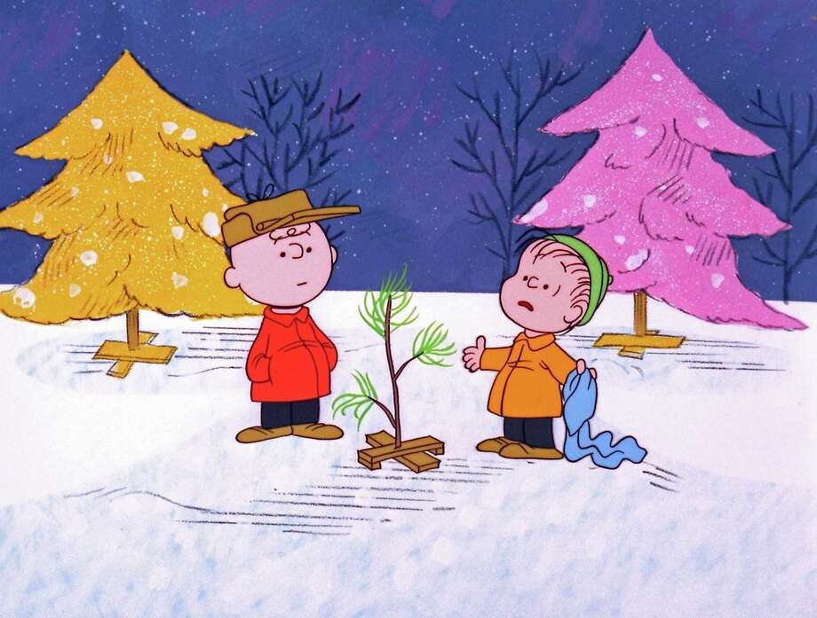 "In this promotional image provided by ABC TV, Charlie Brown and Linus appear in a scene from ""A Charlie Brown Christmas."" The animated special was created by late cartoonist Charles M. Schulz in 1965. (AP Photo/ABC, 1965 United Feature Syndicate Inc.) Photo: Charles M. Schultz / AP / LEE MENDELSON PRODUCTIONS INC"