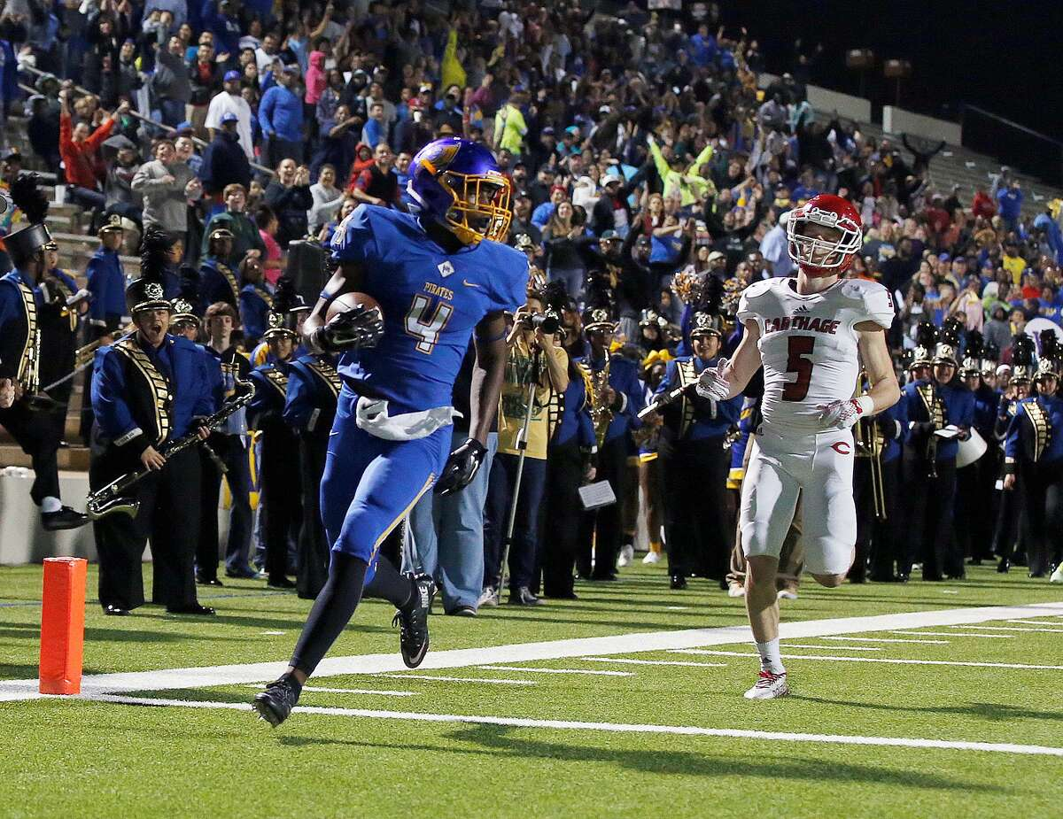 Parrish Cobb, DB, Waco La Vega The Oklahoma verbal commitment plays offense but his No. 1 job each week - which he's very successful at - is shadowing the opponent's top receiving threat and shutting it down.