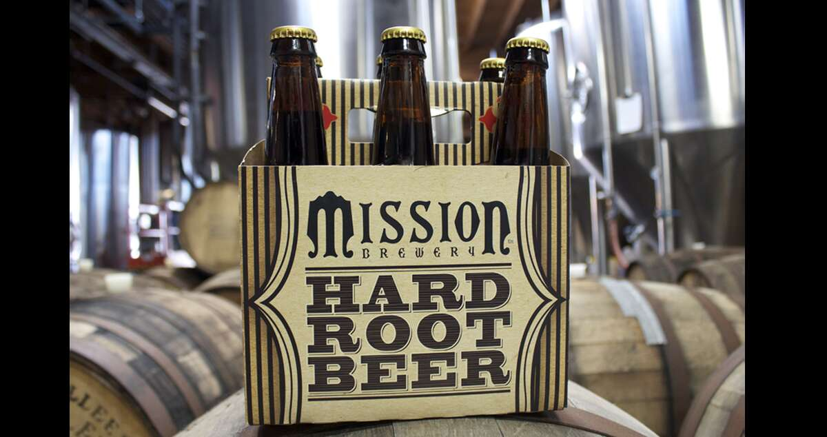"""Mission Rock's """"creamy, smooth, and sweet"""" hard root beer is one of the stronger makes on this list (it touts a 7.5 percent ABV), but with big notes of vanilla sarsaparilla, the San Diego brewery's take on the soda, you may not be able to tell. Buy at Bevmo, or at numerous bars around the Bay Area."""
