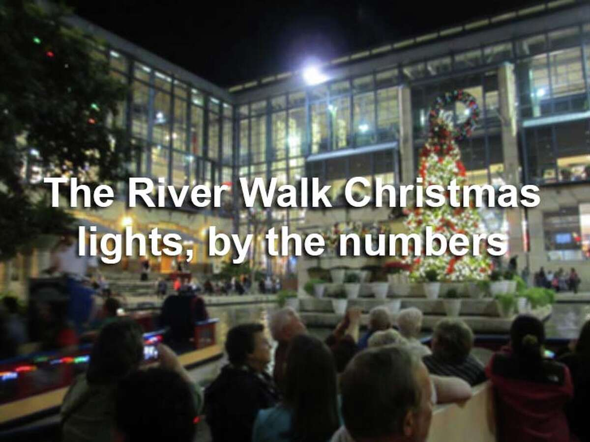 The annual River Walk Christmas light display transforms the already busy tourist attraction into a magical trail. Here are 8 facts about the annual holiday tradition.