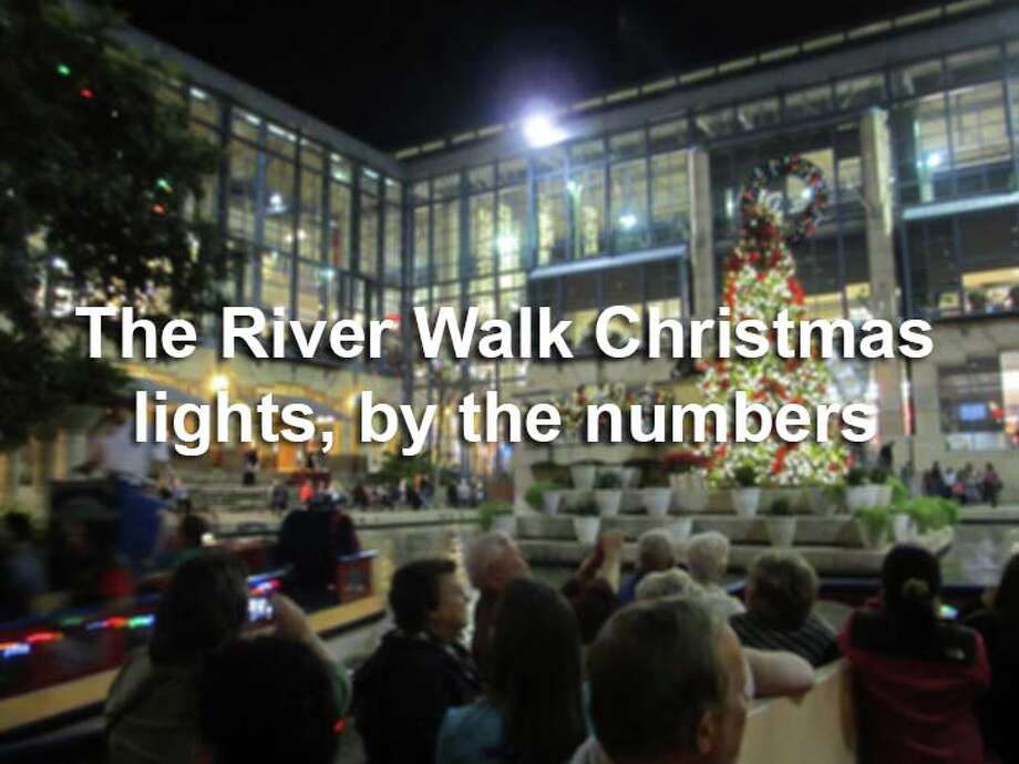 The annual River Walk Christmas light display transforms the already busy tourist attraction into a magical trail. Here are 8 facts about the annual holiday tradition. Photo: San Antonio Express-News