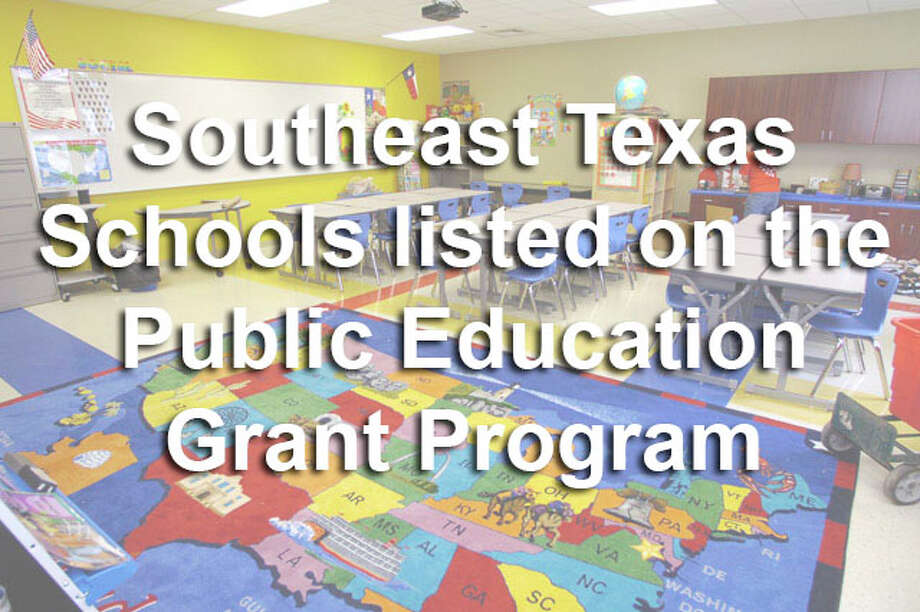 The list of the most troubled Texas schools grew this year, giving more parents the chance to transfer their children to higher-performing campuses. To see the Southeast Texas Schools listed on the Public Education Grant program, click through the gallery.