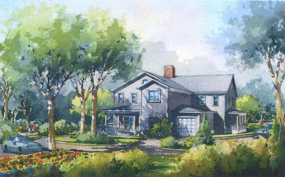 A hospice home, shown in this rendering, is set to open on Den Road next year. Lower Fairfield County has been without a hospice facility since 2011 when the Richard L. Rosenthal Hospice on Shelburne Road closed. Photo: Contributed / Contributed / Stamford Advocate Contributed