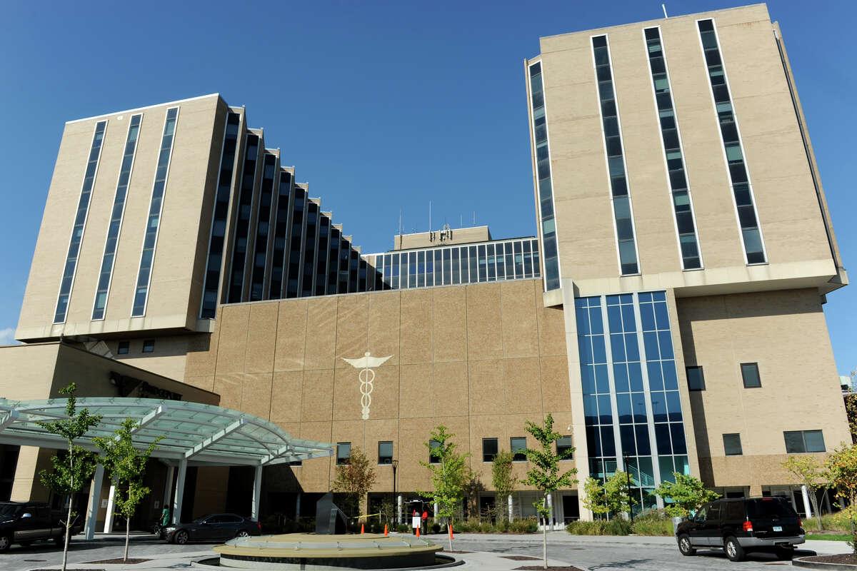 Bridgeport Hospital, in Bridgeport, Conn. Oct. 20, 2014.