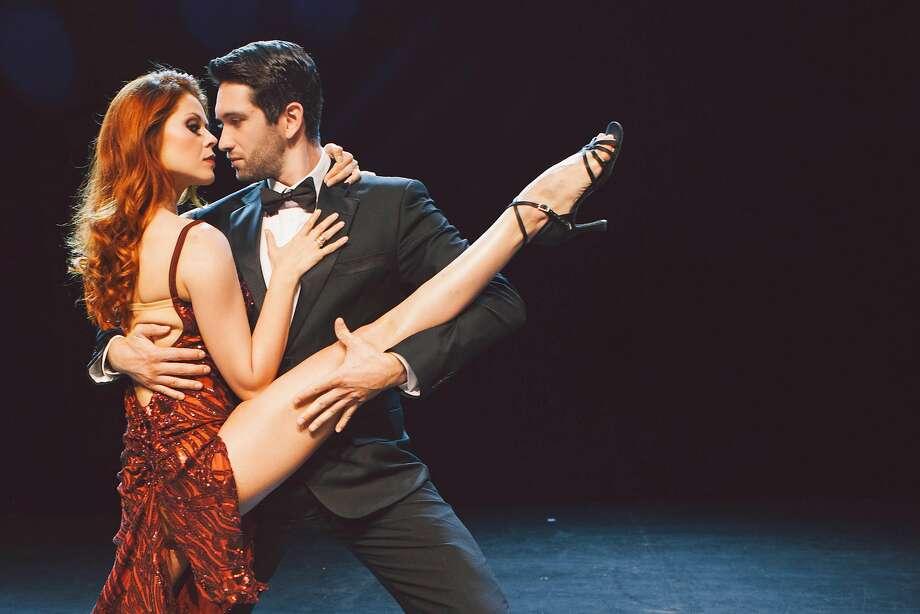"Anna Trebunskaya and Dmitry Chaplin in ""Forever Tango."" Photo: Alexa Sonner"