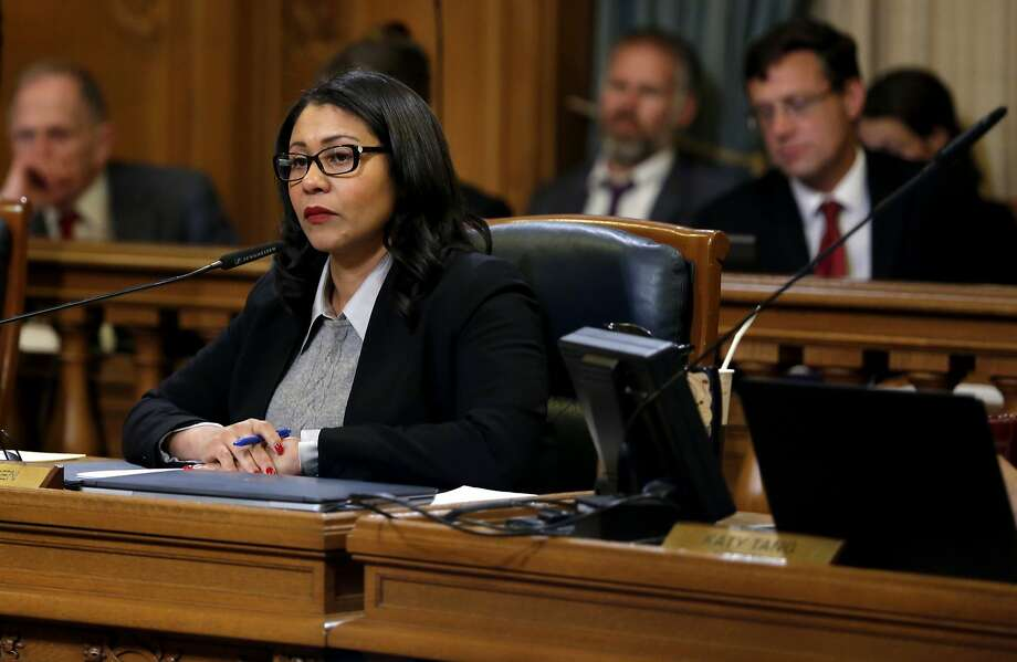 Board of Supervisors President London Breed has shaken up committee assignments - and not everyone is happy. Photo: Connor Radnovich, The Chronicle