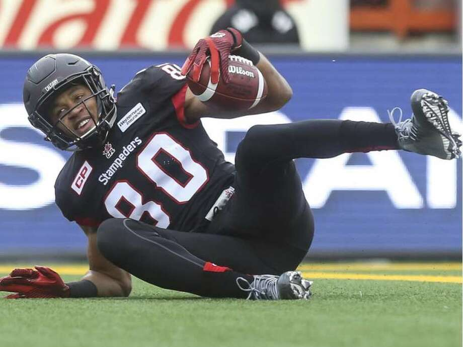 Eric Rogers led the the CFL with 1,448 receiving yards this season.