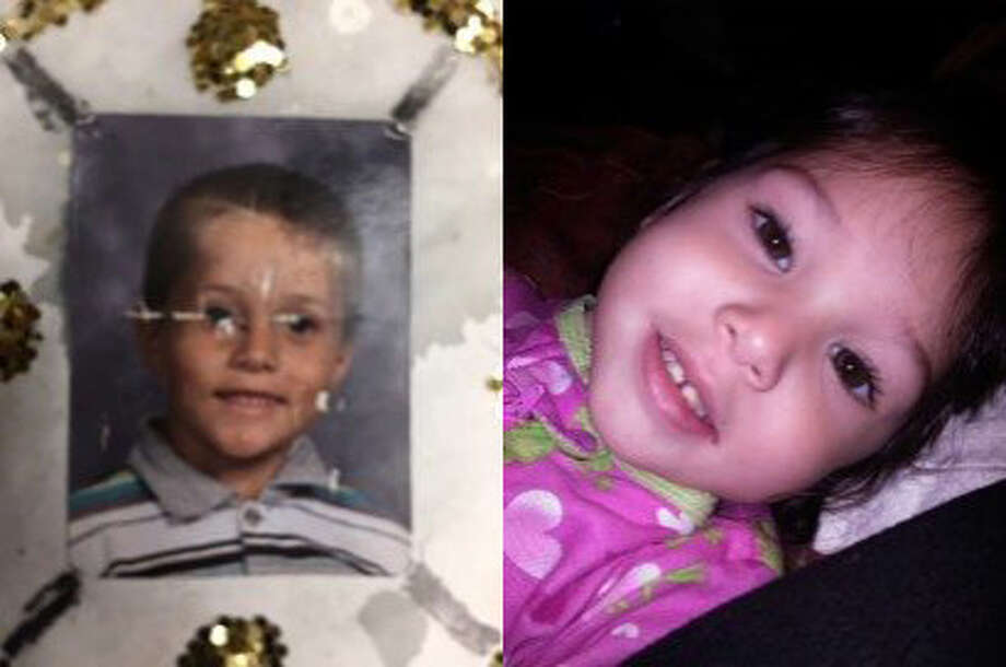 Shaun Tara, 6, left, andDelylah Tara, 3, right, are thetwo children that police say were in the custody of Tami Huntsman and Gonzalo Curiel and are missing. Photo: Redding Police Department