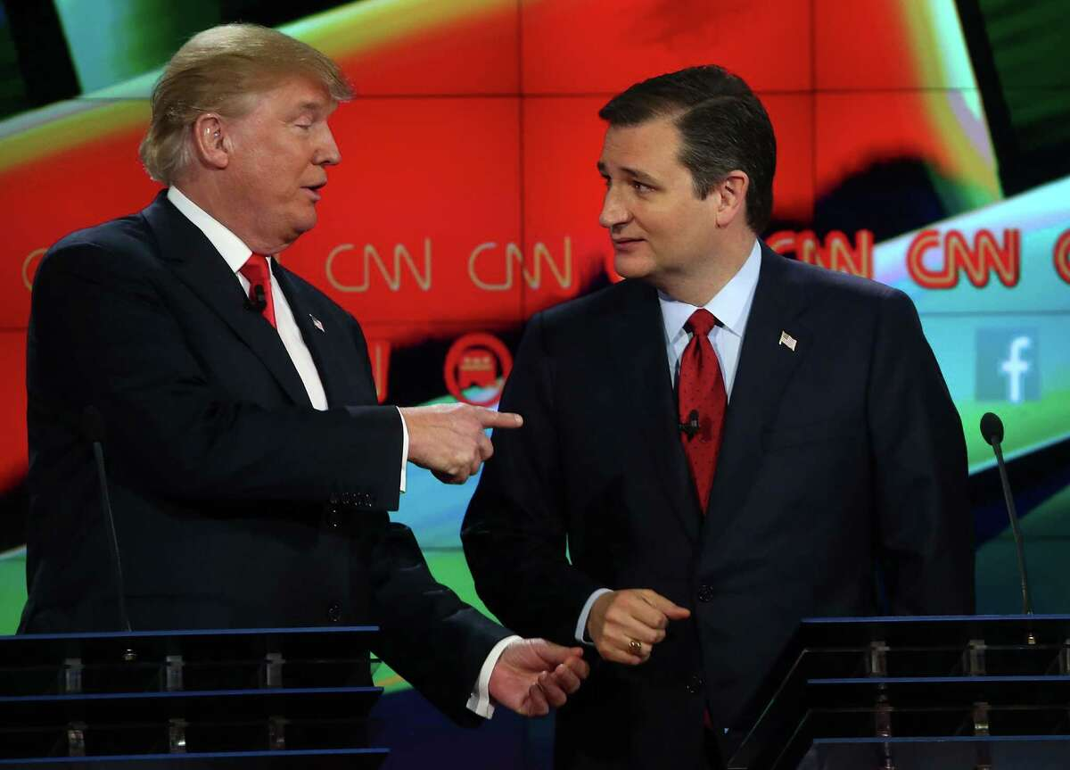 Ted Cruz announces White House bid In March, Sen. Ted Cruz was the first major Republican presidential candidate to announce his candidacy for the GOP nomination for president.