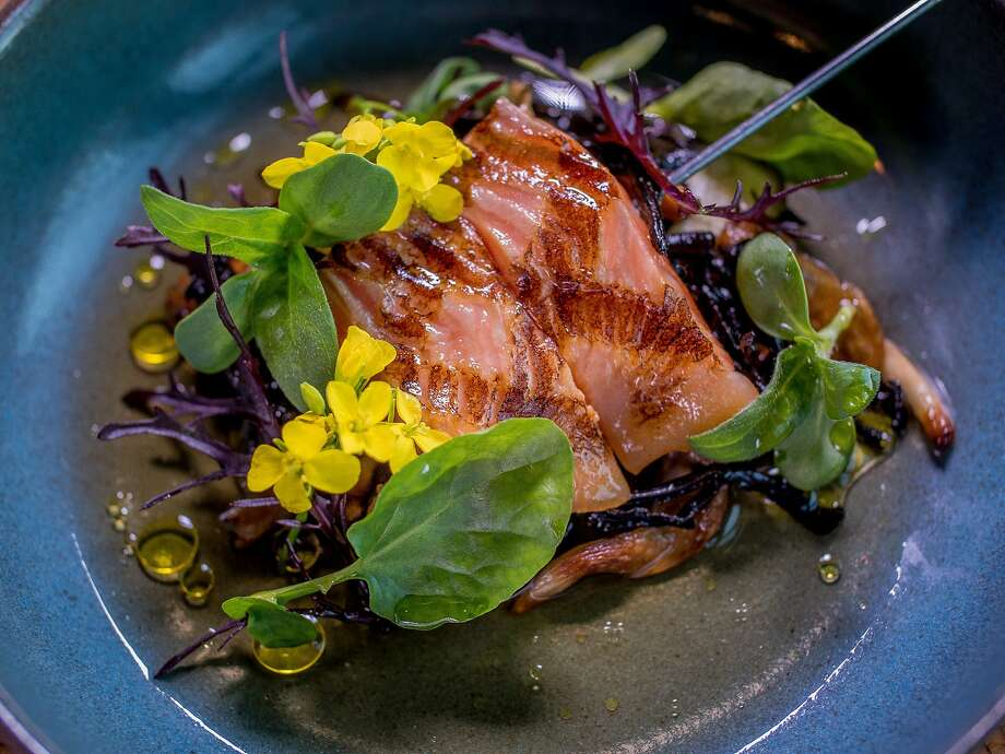 The grilled Mount Lassen Trout at Ninebark in Napa. Photo: John Storey, Special To The Chronicle