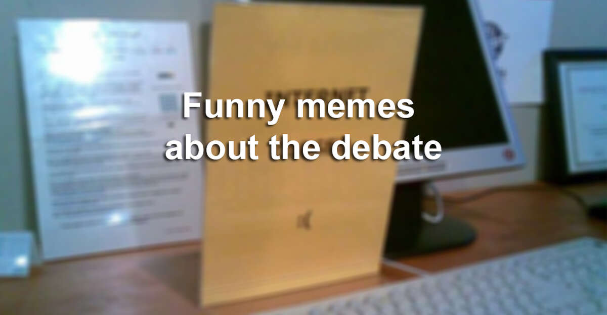 Click through the slideshow to see the funniest memes about the debate.