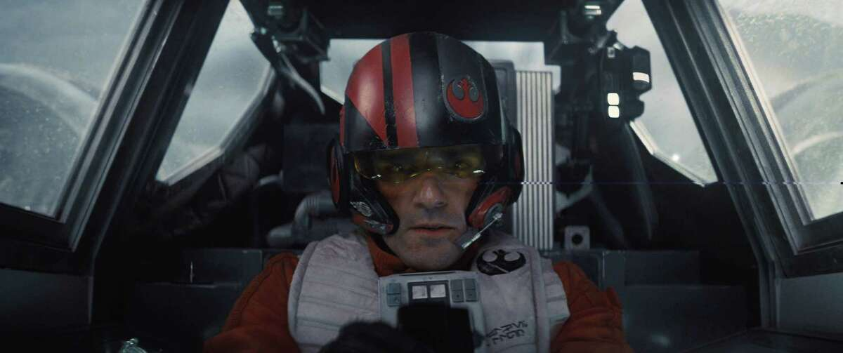 Oscar Isaac as Poe Dameron. MUST CREDIT: Film Frame, Lucasfilm