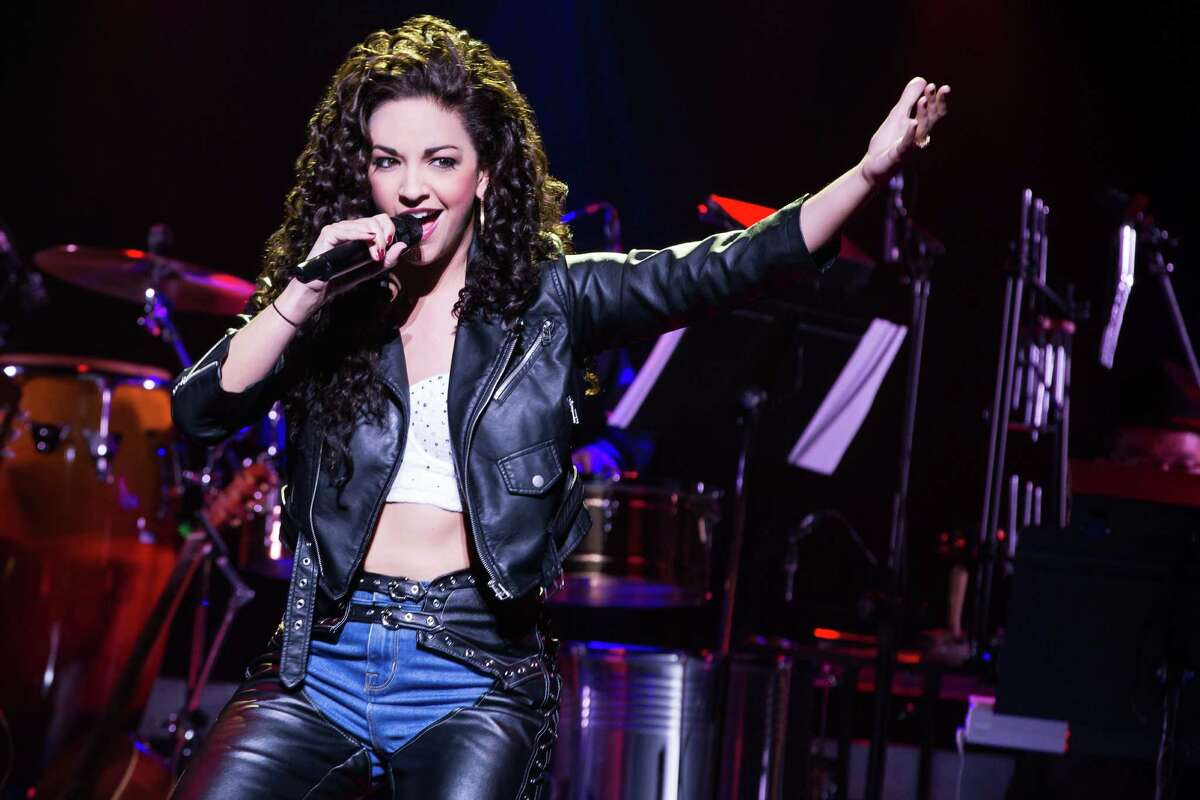 """""""On Your Feet"""" is a lively musical about the smash hits created by Gloria and Emilio Estephan. Ana Villafane plays Gloria in the Marquis Theatre in New York."""
