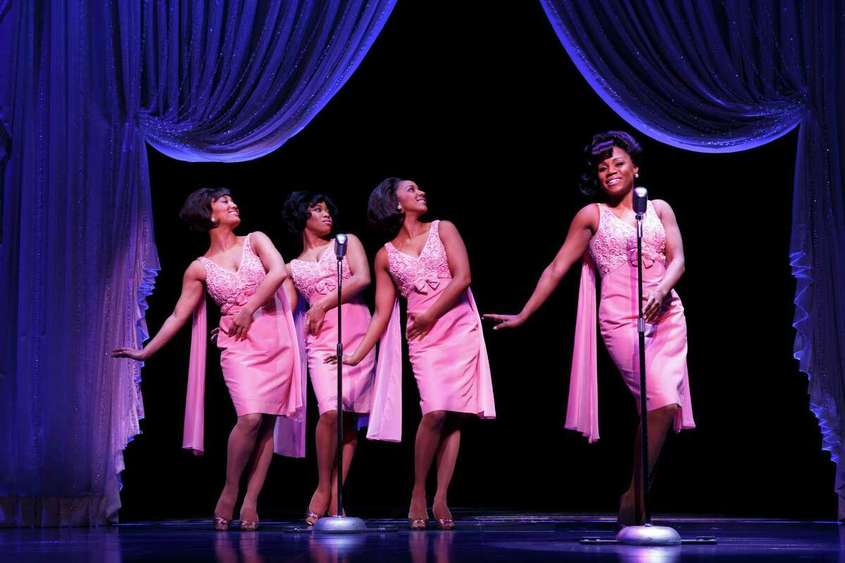 """'The Shirelles"""" were just one example of singers or groups choosing songs by Carole King featured in the Broadway musical """"Beautiful,"""" playing in the Stephen Sondheim Theatre."""