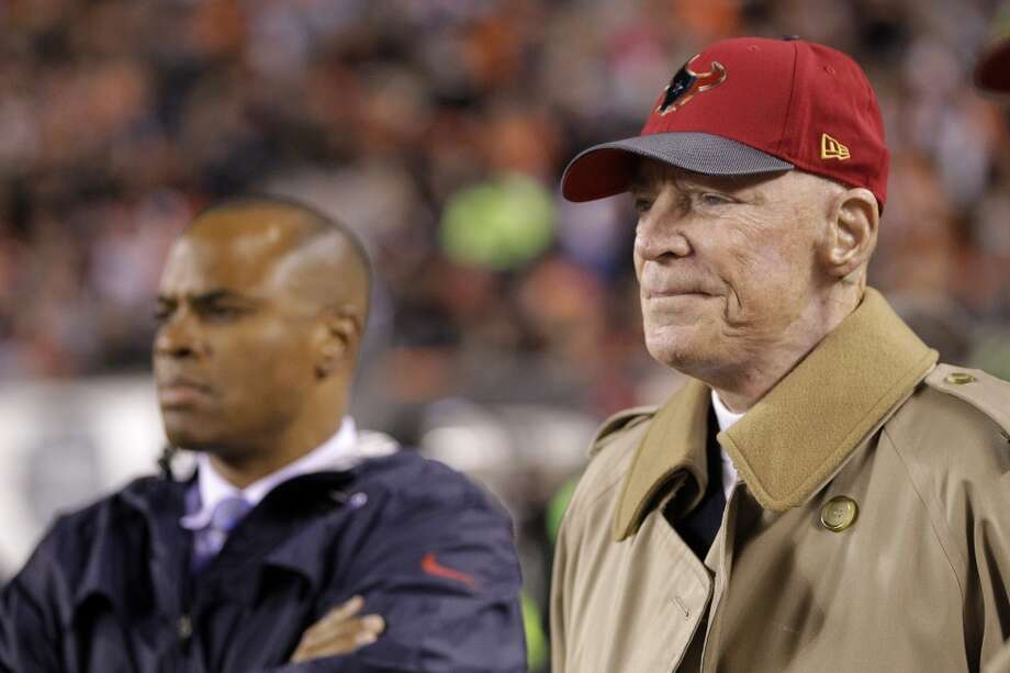"Texans owner Bob McNair says just reaching the playoffs is ""not the ultimate goal."" for the franchise.  Click through the gallery to see where McNair stands in the Chronicle's NFL owner rankings. Photo: Brett Coomer, Houston Chronicle"