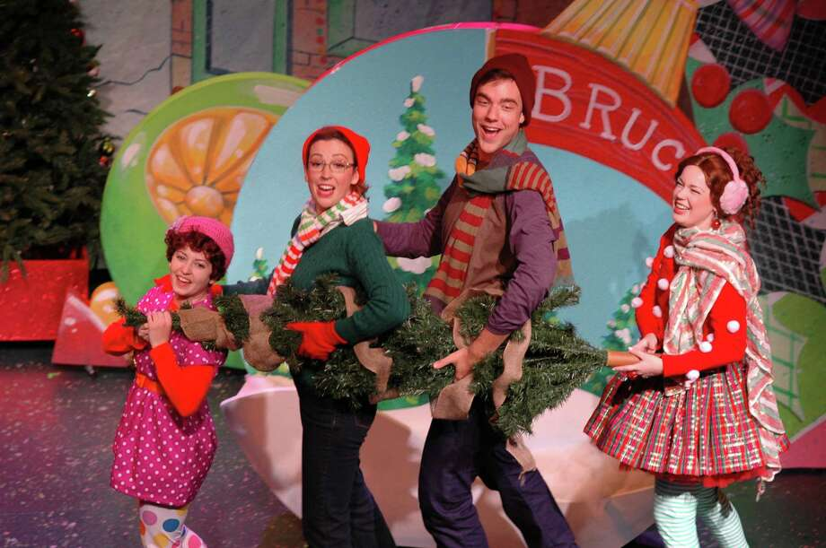 """""""Fancy Nancy: Splendiferous Christmas"""" is a holiday musical for families that's on stage at Westport Country Playhouse on Sunday, Dec. 20. Photo: Contributed Photo / Sunpro, Inc."""