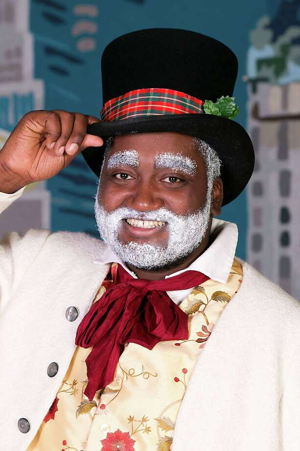 """Terrance Jackson portrays """"Frosty"""" in a professional family stage play that comes to the Quick Center for the Arts  in Fairfield on Saturday, Dec. 19. Photo: Contributed Photo / Contributed Photo / Connecticut Post Contributed"""
