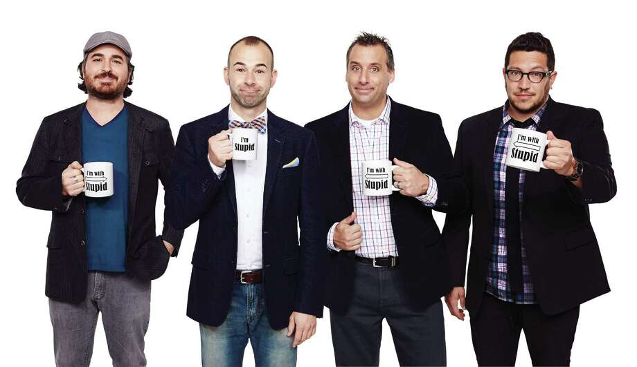 truTV Impractical Jokers follows four guys as they coerce one another into doing public pranks while being filmed by hidden cameras. Their highly successful tour is a mix of stand-up, never-before-seen hidden camera videos, stories and insight. When: Friday, Dec. 16, 6:30 and 9:30 PM. Where: Palace Theatre, 19 Clinton Ave., Albany. For tickets and more information, visit the website. Photo: Contributed Photo / The News-Times Contributed