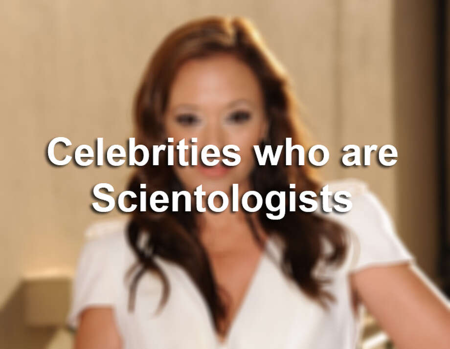 Scroll through the slideshow to see celebrities who are Scientologists.