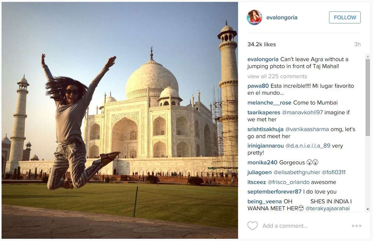 Eva Longoria took a trip to India to meet with a nonprofit organization, as well as take in some of the sights to see in the country.