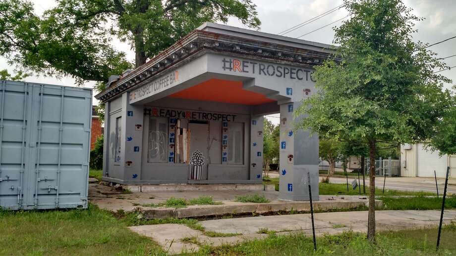 The Gulf Oil Filling Station in Midtown. (City of Houston)