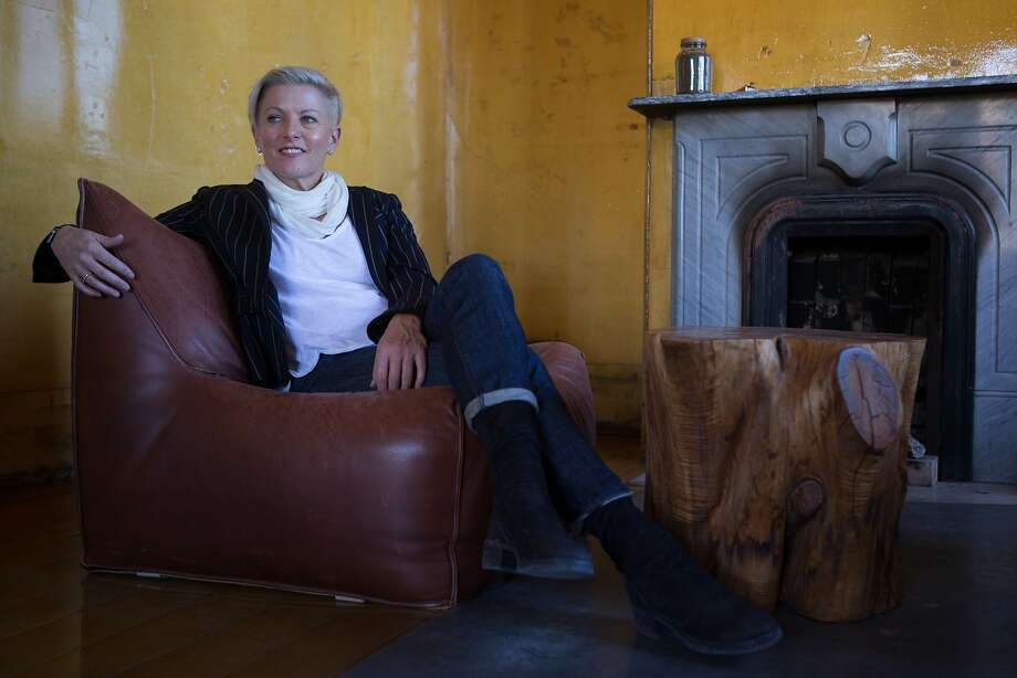 Carlie Wilmans poses for a photo in the 500 Capp street home on Monday, Dec. 14, 2015 in San Francisco, Calif. Photo: Nathaniel Y. Downes, The Chronicle