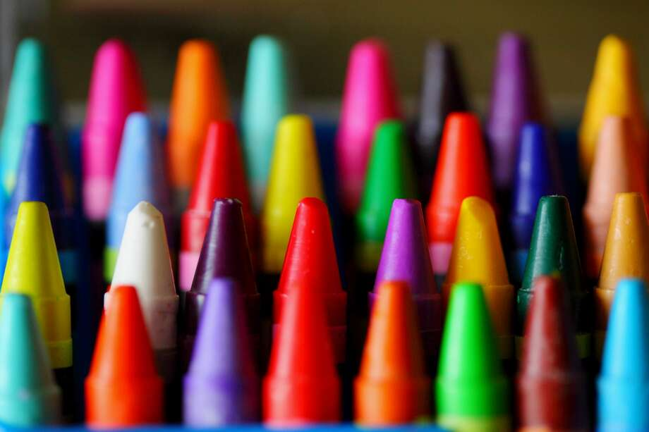 Playskool crayons were found to contain toxic levels of asbestos. Photo: D. Sharon Pruitt Pink Sherbet Photography, Getty Images