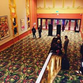 Lobby of Alamo Drafthouse's New Mission theater