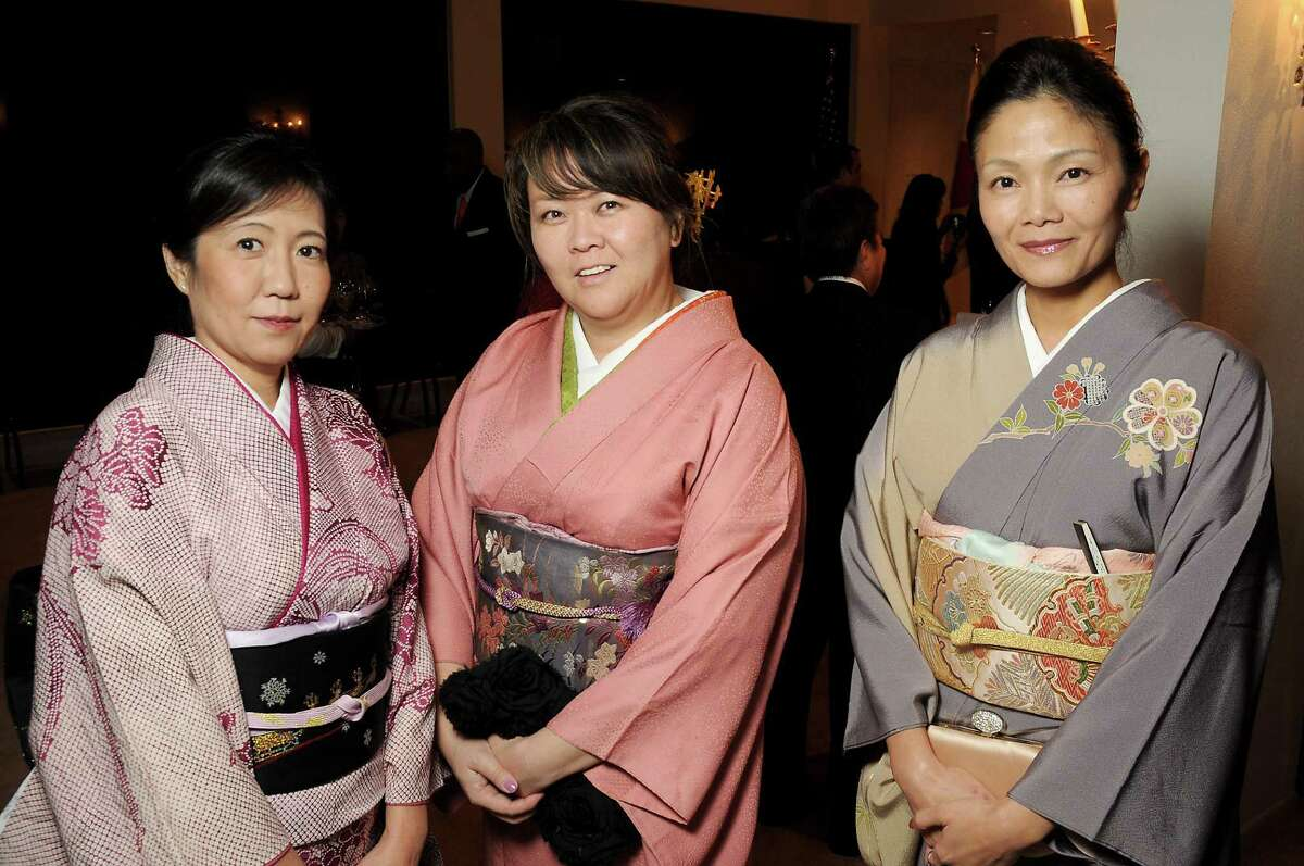 From left: Rumiko Iwasaki, Maya Basinger and Runi Kudo